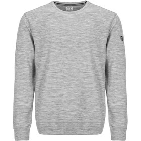 super.natural Essential Crew Neck Men Ash Melange